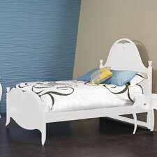 Jepara Bed in Off White
