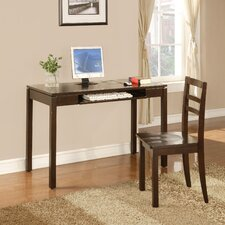 <strong>InRoom Designs</strong> Writing Desk and Chair Set