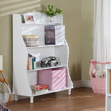 Tall Bookcase in White