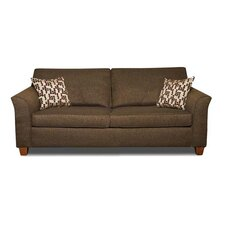 Chenille Fabric Sleeper Sofa
