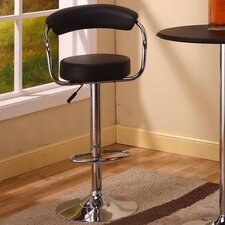 <strong>InRoom Designs</strong> Adjustable Swivel Bar Stool