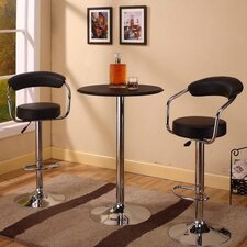 <strong>InRoom Designs</strong> Counter Height Pub Table with Optional Stools