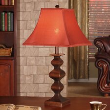 "27"" H Table Lamp with Square Shade (Set of 2)"