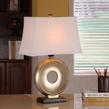 """Sleek 25"""" H Table Lamp with Rectangle Shade"""