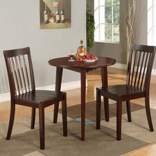 <strong>InRoom Designs</strong> 3 Piece Dining Set