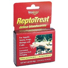 Reptotreat Bloodworms Pet Food