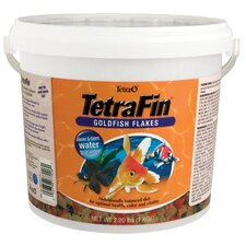 <strong>Tetra</strong> Tetrafin-Goldfish Flake Fish Food - 2.2 lbs