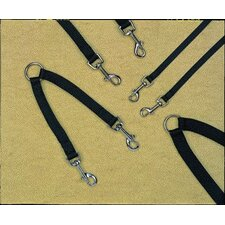 Single Thick Walking Two Dogs Coupler Leash