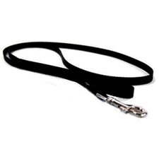 <strong>Hamilton Pet Products</strong> Single Thick Nylon Lead with Snap in Black