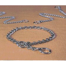 Extra Heavy Choke Chain Dog Collar