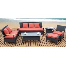 5 Piece Sofa Seating Group with Cushion