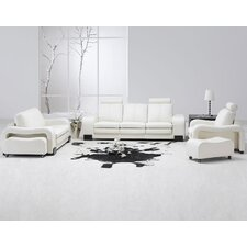 5 Piece Leather Living Room Set
