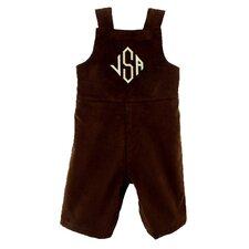 <strong>Princess Linens</strong> Bon Bon Collection Corduroy John John in Brown