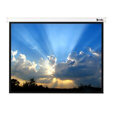 "Magnifica Matte White 106"" Electric Projection Screen"