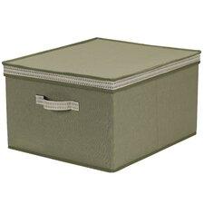 PET/Cotton Storage Box with Sonic Trim Wave