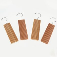 Cedar with Hang Up and Hook (Set of 4)