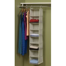 Tea and Fog Polypropylene 8 Shelf Organizer
