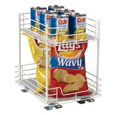 "Glidez 12"" Two Tier Pantry Organizer"