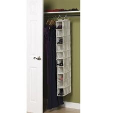 <strong>Household Essentials</strong> Storage and Organization 10 Pocket Hanging Shoe Organizer