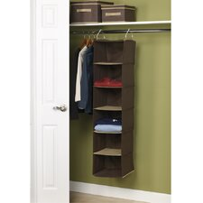 <strong>Household Essentials</strong> Storage and Organization 6 Shelf Organizer