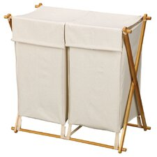 X Frame Double Hamper
