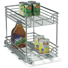 "<strong>Household Essentials</strong> Glidez 11.5"" Two Tier Sliding Organizer KD"