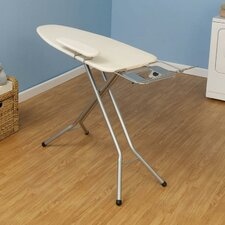 WideTop Ironing Board in Satin Silver