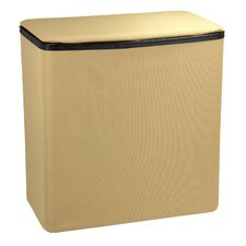 Laundry Hamper with Hinged Lid