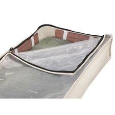 Cedarline Zippered Canvas Under-The-Bed Storage Bag
