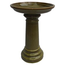 Aviatra Ceramic Birdbath
