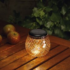 Glass Mosaic Solar Tea Light
