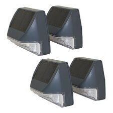 Solar Wall Light (Set of 4)