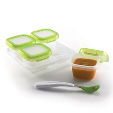 Baby Blocks Freezer Container Set