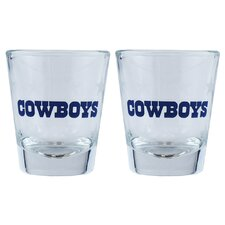 NFL Shot Glass Cup (Set of 2)