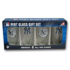 MLB Pint Glass (Set of 4)