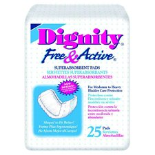 Dignity Free and Active Disposable Super Absorbent Pad