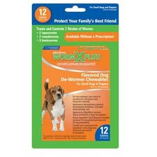 Worm X Plus Chewable for Small Dogs (12 Tablet)