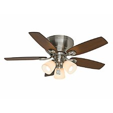"44"" Durant 5 Blade Ceiling Fan with Handheld Remote"