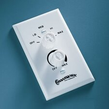 Dual Rotary Ceiling Fan/Light Wall Control Unit