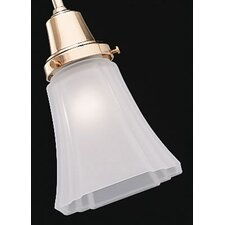 "2.25"" Glass Bell Ceiling Fan Shade"