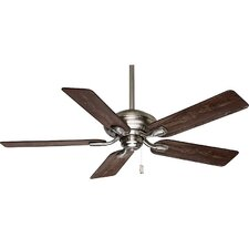 "52"" Utopian® 5 Blade Ceiling Fan with Handheld Remote"
