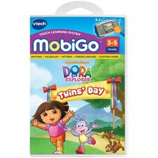 Nickelodeon Dora the Explorer MobiGo Software Cartidge - Dora It's Twins Day