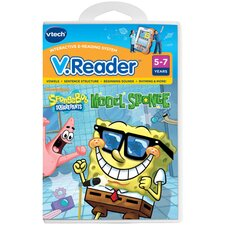 <strong>VTech Communications</strong> Nickelodeon SpongeBob SquarePants V. Reader Cartridge - Model Sponge