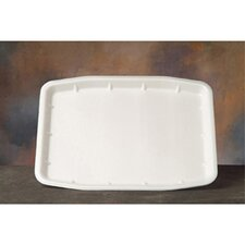 "<strong>Genpak</strong> 16"" Supermarket Tray in White"