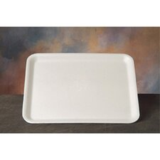 "11.25"" Supermarket Tray in White"