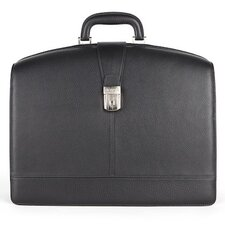 Tribeca Partners Leather Laptop Briefcase