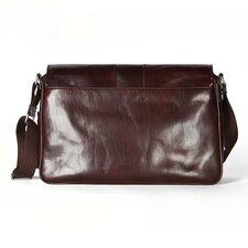 Old Leather Messenger Bag
