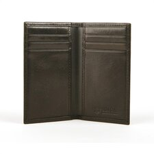 Old Leather 8 Pocket Credit Card Case