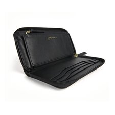 <strong>Bosca</strong> Nappa Vitello Zip Around Wallet
