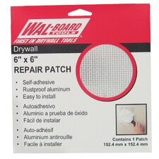 "6"" X 6"" Drywall Repair Patch 54-006"